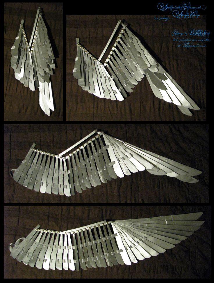 1/3rd-scale Folding Wing Prototype +VIDEO by EuTytoAlba.deviantart.com on @DeviantArt