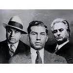 Al Capone, Lucky Luciano & John Gotti
