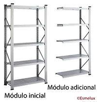 Estantería metálica modular http://www.esmelux.com/estanter%C3%ADa-met%C3%A1lica-modular