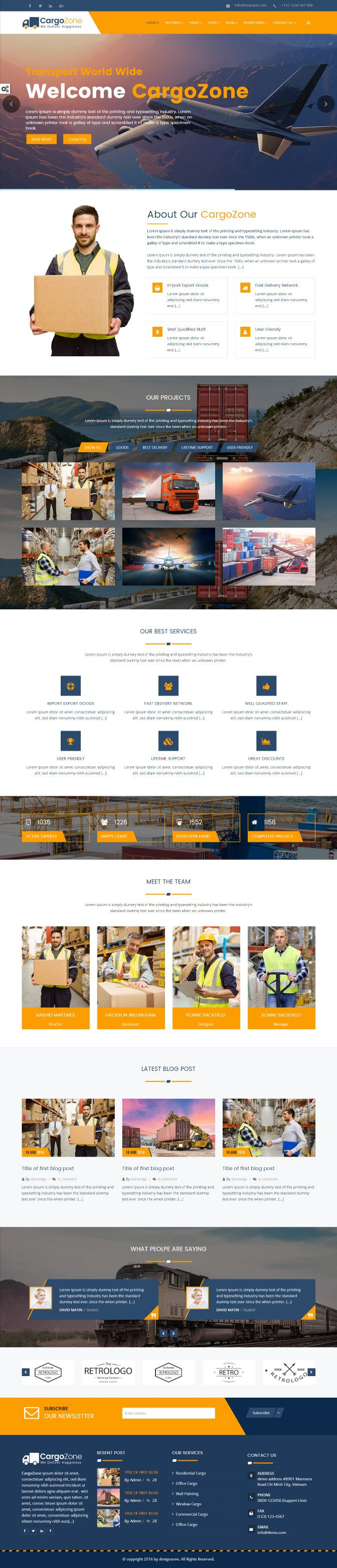 Meet our best premium multipurpose theme is specially designed for anyone and without having to spend hours on complexes   coding. create customized beautiful layouts, designs individual settings in your timeframe.  #Cargo #Transport #Logistic #Multipurpose #ResponsivTemplate #Garder #Education #Health #Fitness