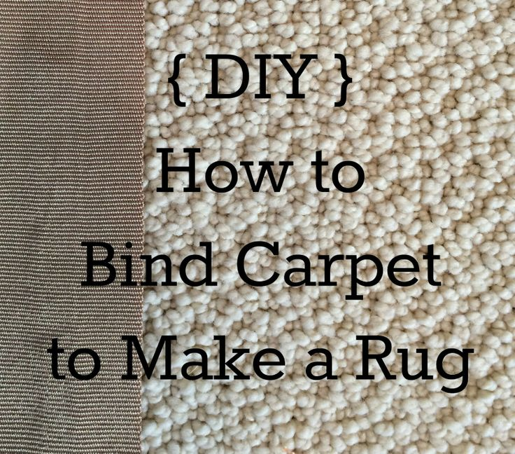 Rug Binding Do It Yourself : Best images about floors rugs on pinterest carpets