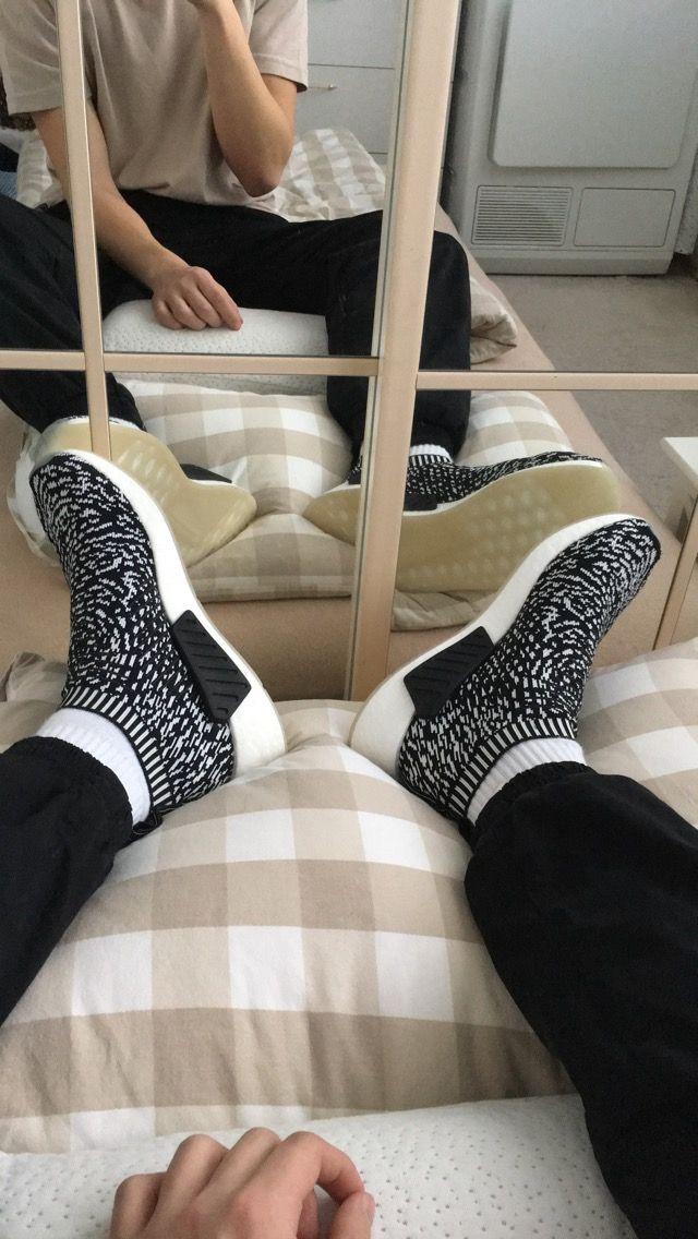 8edb67889496e Adidas Nmd Cs2 Black White Sashiko #adidas #aesthethics #nmd #nmdcs #nmdcs2  #sashiko