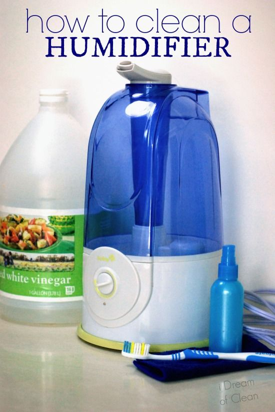 Get rid of the nasties that hide out in humidifiers. How to Clean a Humidifier - i Dream of Clean