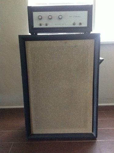 vintage 1968 SEARS SILVERTONE 1463 bass amp 60's ...