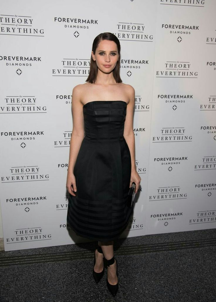 Felicity Jones – Lighthouse International Theater in New York City – November 2014