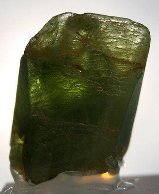 Cristallo di Olivina naturale - Peridotkristall cod.m113
