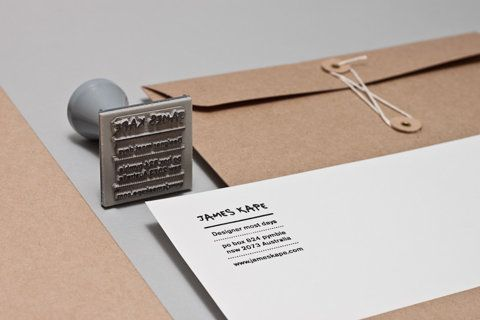 likeJames Of Arci, Design Inspiration, Kape Portfolio, Corporate Identity, James Kape, Address Labels, Returns Address, Personalized Portfolio, Custom Stamps