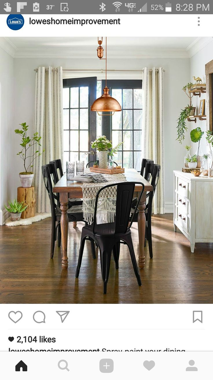 Pin by Sally Jackson on home decor (With images) Dining