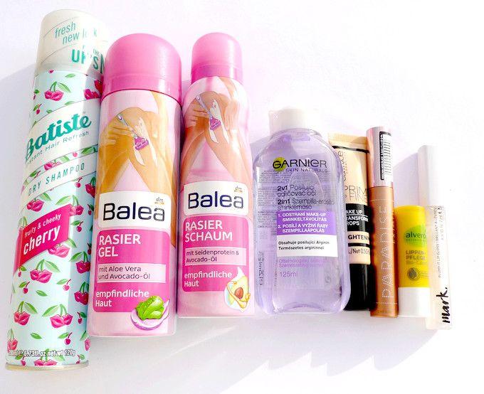 Nákupy kosmetiky listopad 2017