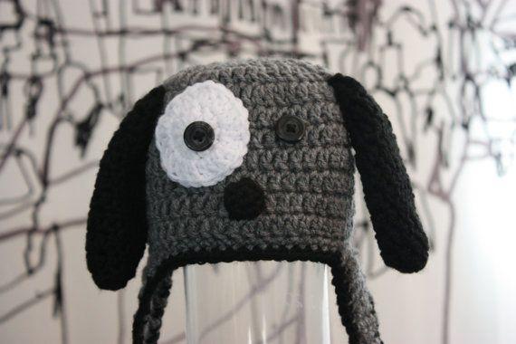 Crochet PATTERN - Puppy Hat - Instant download. $4.99, via Etsy.