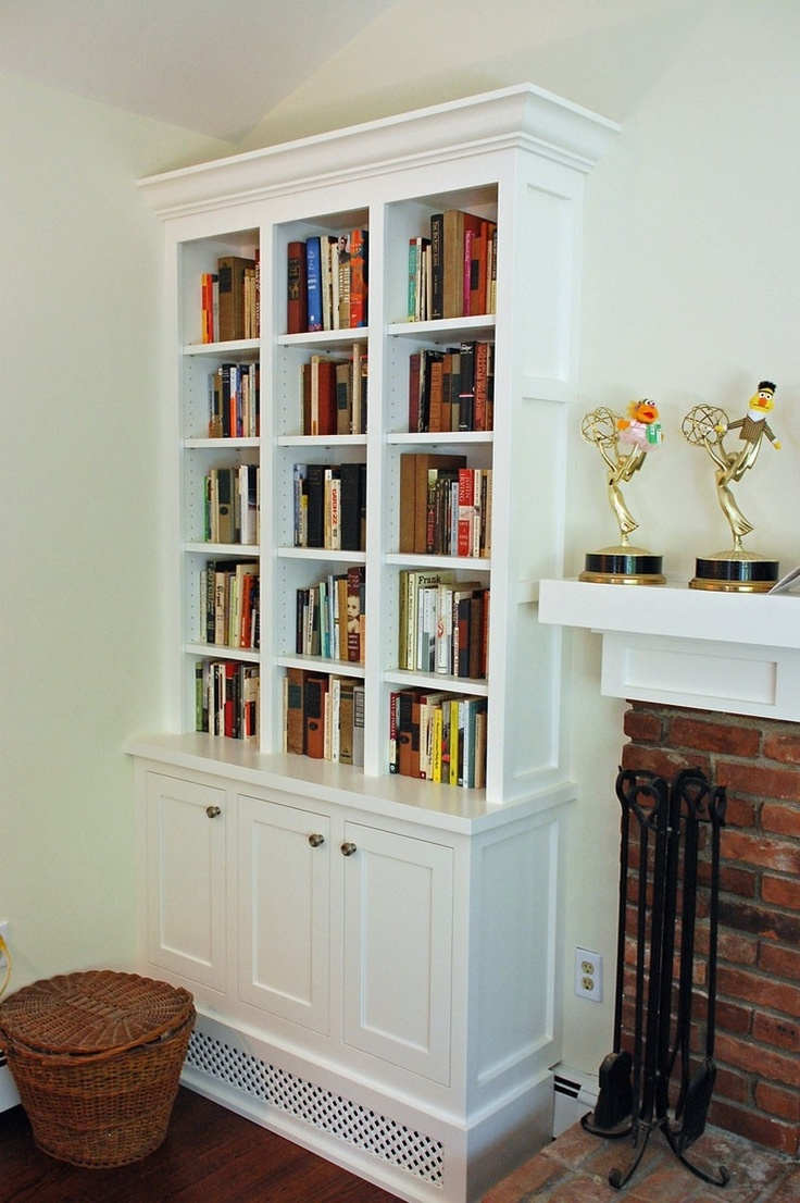 Living Room With Bookshelf: 32 Best Images About Living Room Bookcases On Pinterest