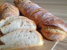 gyökérkenyér recept, dagasztás nélküli kenyér, DNK, hogyan süssünk gyökérkenyeret? Kocsis Hajnalka receptje