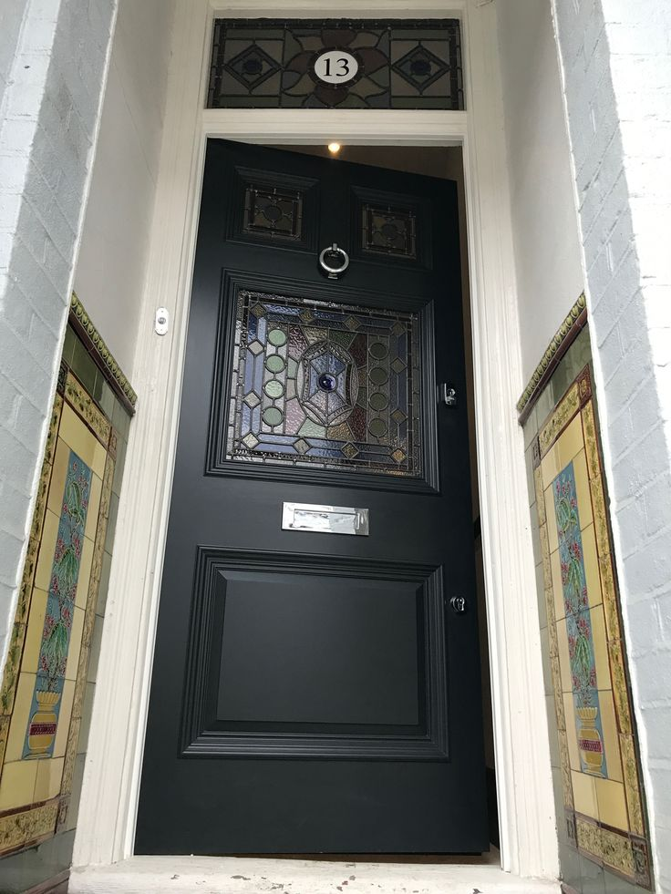 22 best black front doors images on pinterest black for 10 downing street front door paint