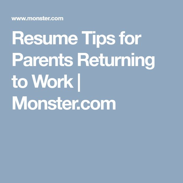 The 25+ best Monster job search ideas on Pinterest Job search - sample resume for stay at home mom returning to work