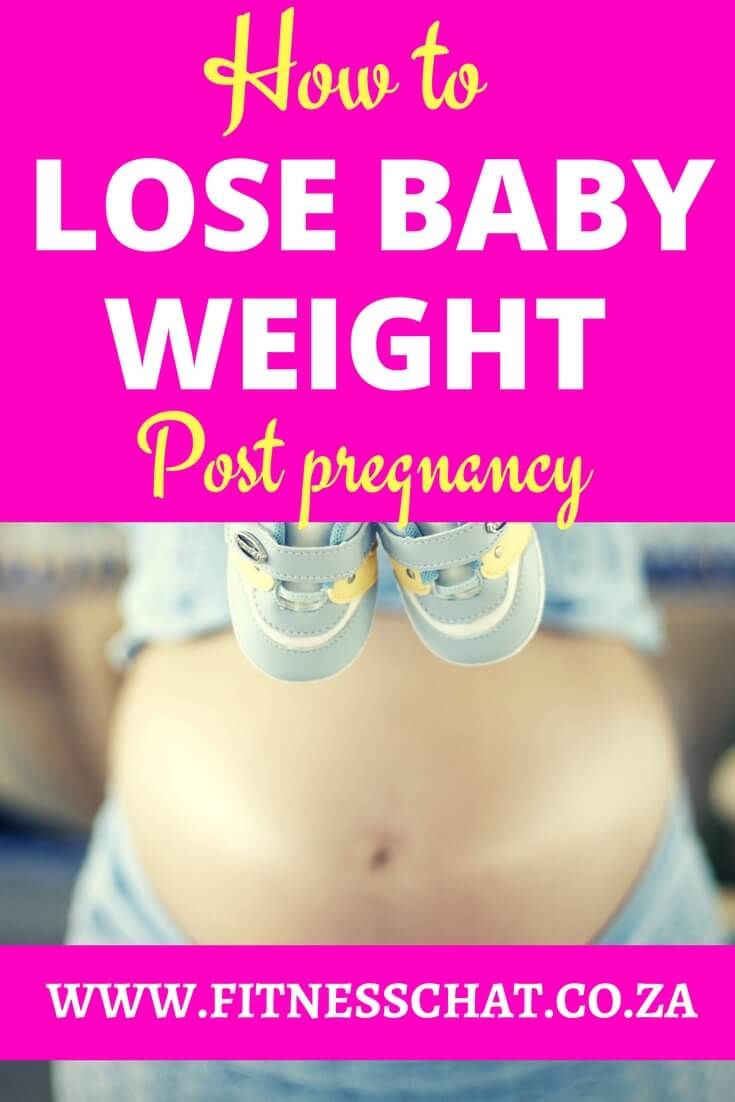Can you lose weight too fast after having a baby