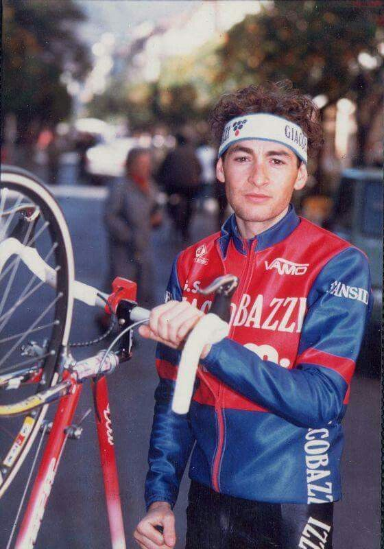 A young Marco Pantani