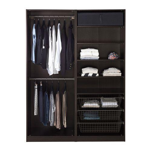 "PAX Wardrobe IKEA  Width: 59 "" Depth: 26 "" Height: 79 1/4 """