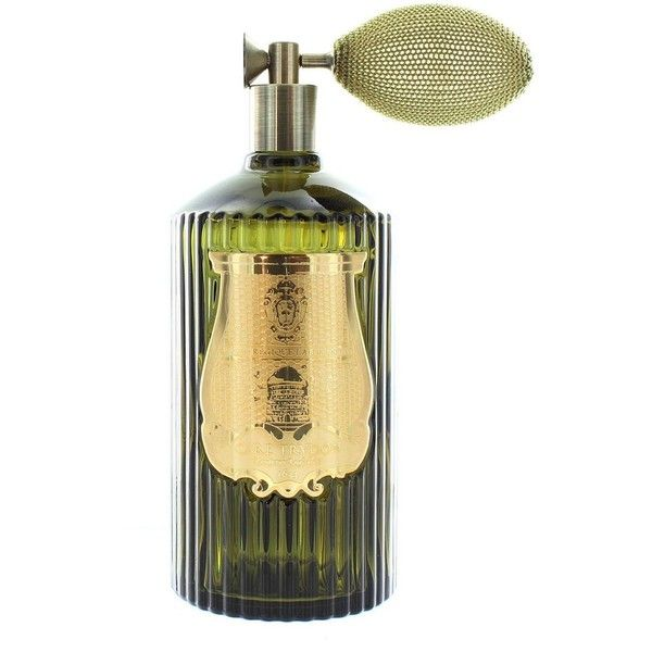 Cire Trudon L'Admirable Room Spray/13 oz. ($190) ❤ liked on Polyvore featuring home, home decor, home fragrance, apparel & accessories, no color, room fragrance spray, cire trudon room spray, citrus spray, flower spray and bee spray