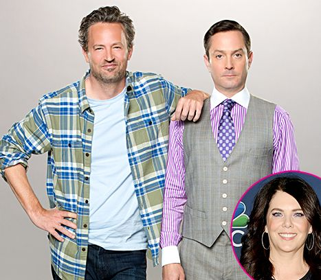 Matthew Perry, Real-Life Ex-Girlfriend Lauren Graham Will Play Exes In The Odd Couple : usweekly -Oct 24, 2014