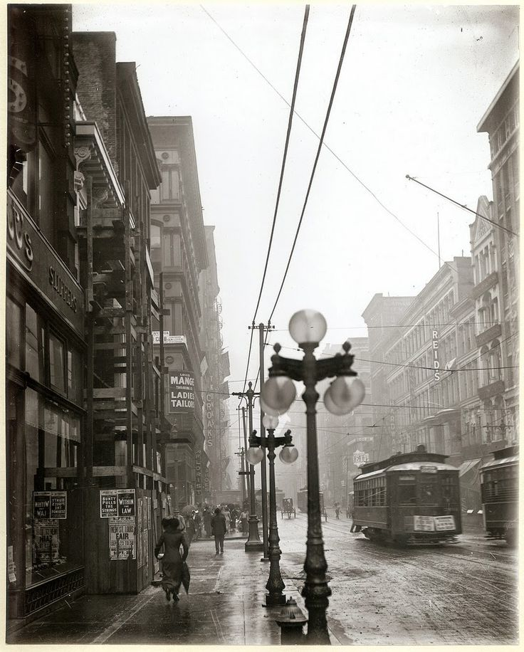 vintage everyday: 30 Stunning Vintage Photographs of St. Louis Streets in the Early 20th Century
