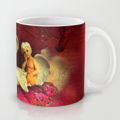 #Christmas Angels Mug by Annabellerockz - $15.00
