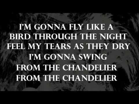 Scintillating Lyrics Chandelier Four Tet Remix Sia Ideas ...