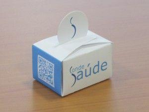 Caixa para bombons desenvolvido para a Clínica Conde Saúde