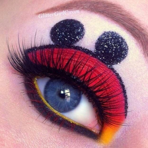 Maquillaje mickey