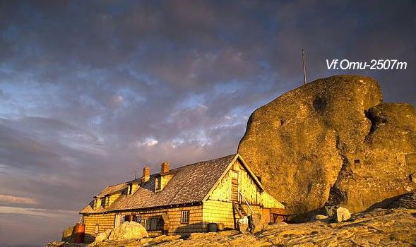 Varful Omu Bucegi este vârful muntos clasat al unsprezecelea între vârfurile muntoase din România, situat în Masivul Bucegi, reprezentând cel mai înalt punct al acestui masiv. Altitudinea sa este 2.505 metri, după alte măsurători, 2.507 metri, la baza bolovanului de pe varf, sau 2.514 metri in varful acestuia. Este vizibil de pe creasta Pietrei Craiului, precum și de pe Valea Prahovei.