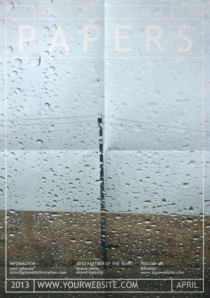 poster / drops