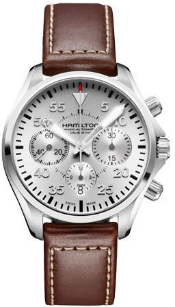 H64666555 - Authorized Hamilton watch dealer - Mens Hamilton Khaki Pilot Auto Chrono, Hamilton watch, Hamilton watches - mens wrist watches for sale, compare mens watches, mens tag watches