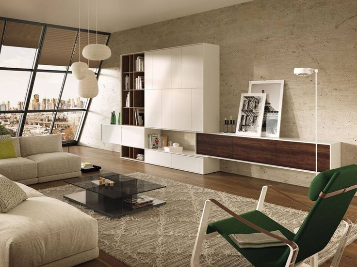 Elegant Floating shelves are a sleek contemporary solution to dress up a blank wall while adding