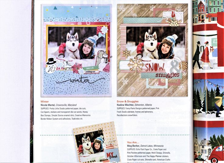 Winter published in Creative Scrapbooker Winter 2017 Issue