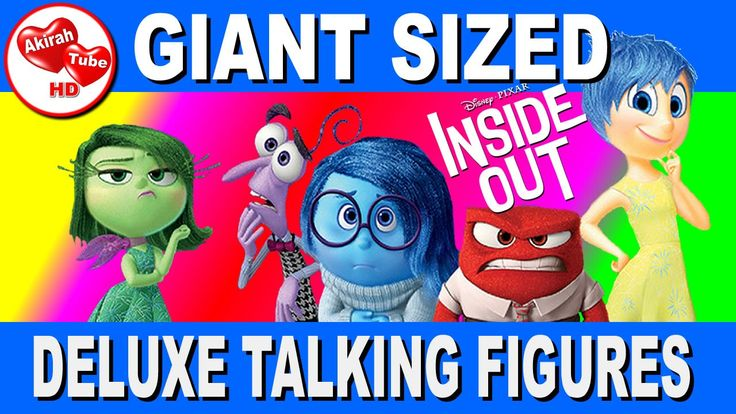 INSIDE OUT TOYS, INSIDE OUT DELUXE TALKING FIGURES