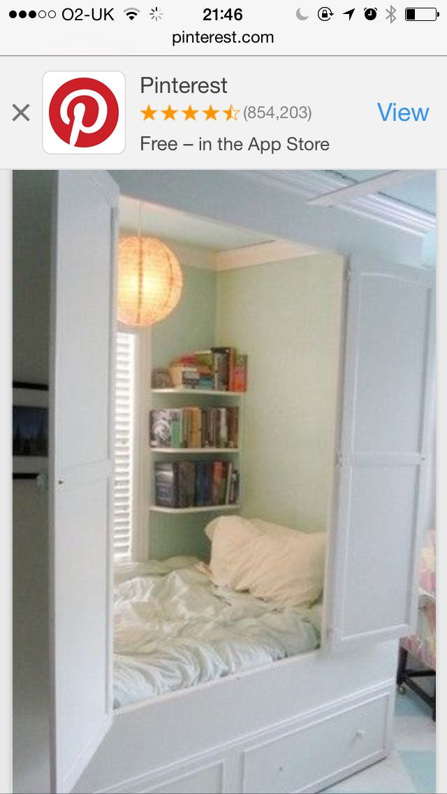 Twin Bed Nook