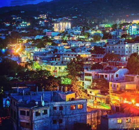 Petion Ville Haiti By Night La Nuit A Petion Ville Haiti