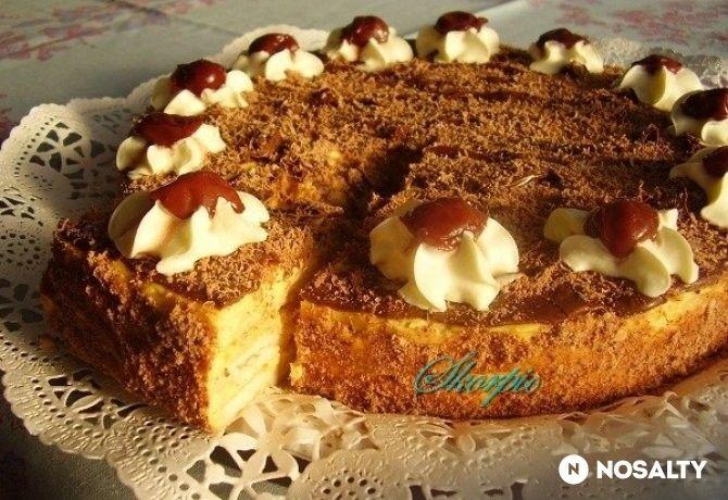Napóleon torta ~~ NOSALTY