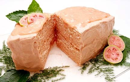"The Guava Chiffon Cake can be called a ""fusion"" dessert that combines the classic California Chiffon Cake with the Hawaiian Island's favorite fruit of guava."