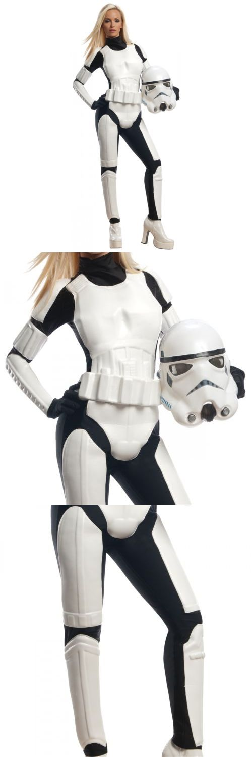 Halloween Costumes: Female Stormtrooper Costume Adult Star Wars Halloween Fancy Dress -> BUY IT NOW ONLY: $59.29 on eBay!