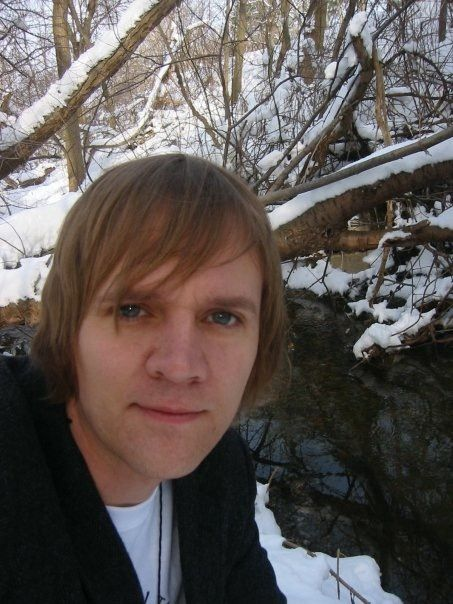 Author Lorin Morgan-Richards in Beebetown, Ohio