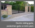 Automatic, Electric Sliding Gate