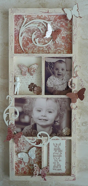 Guest Designer project for Scrap Revolution - altered frame