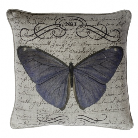 Butterfly Collection  Butterfly No. 1 With Script