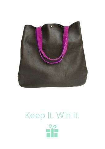 Have you entered? 7 Prizes. 7 Winners. On Keep! This would totally work for an every day kinda bag haha