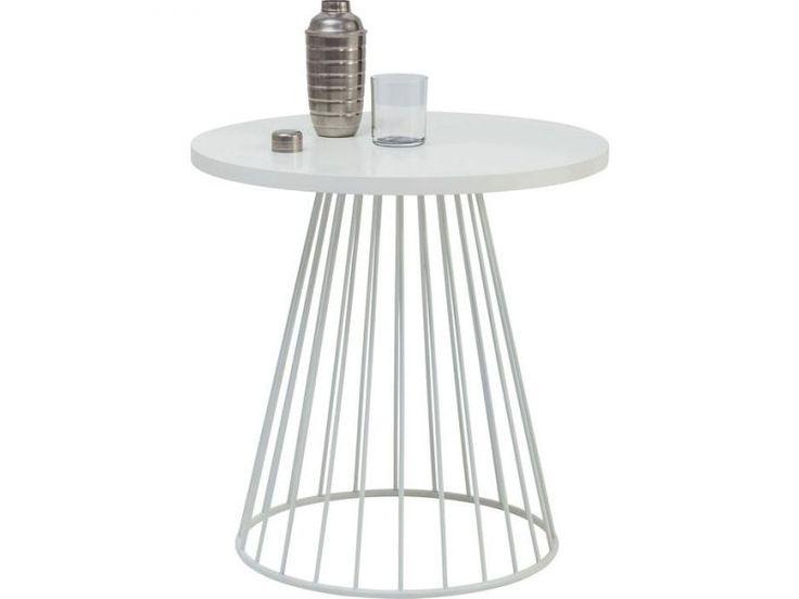Stolik Wire I Biały 60cm