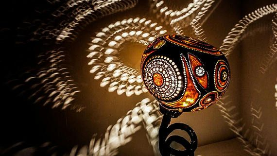 100% HANDMADE Gourd lamp Ottoman lighting  Turkish lampshade