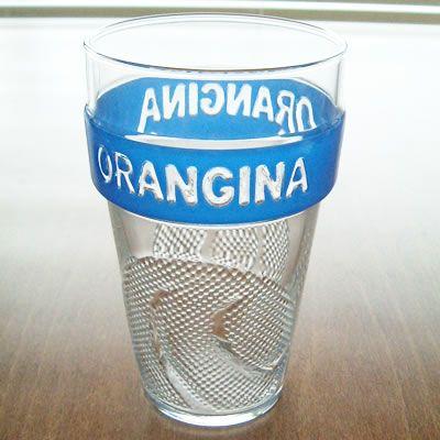ORANGINA stacking glass