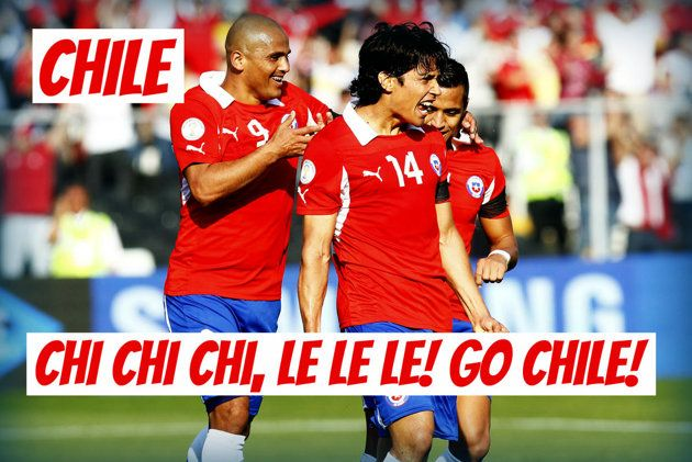 World Cup 2014 slogans - Chile