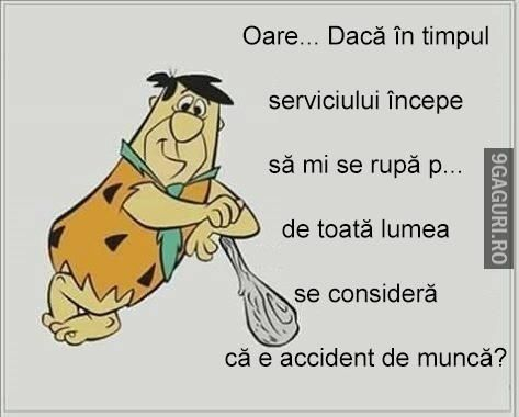 Accident de muncă! Link Postare ➡ http://9gaguri.ro/media/accident-de-munca