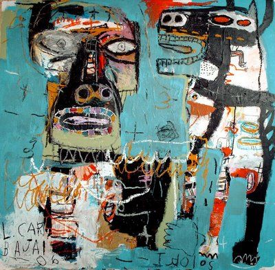 ♠️Jean Michel Basquiat ( 1960 - 1988 ) American Neo-Expressionist : More At FOSTERGINGER @ Pinterest♠️♠️